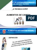 Aumentos de Capital 21-09-2014