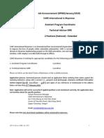 Advisor-drr & Apc