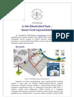 A fóti Élhető Jövő Park – Smart Grid tapasztalatok