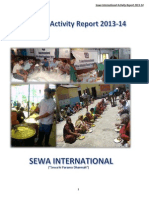 Sewa International Bharat Activity Report 2013 14
