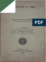 1939 Exploration in Tibet by Pranavananda s