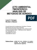 Impacto Ambiental Atmosférico - Análisis de Metodos de Sondeo