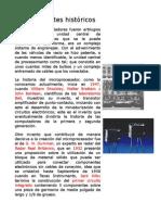 Antecedentes Históricos Del Microprocesador