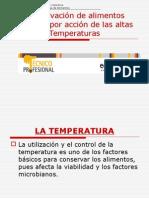 Temperatura Alta Metodo de Conservación