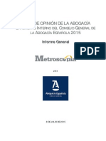 Informe General Barometro Interno Cgae Julio 2015