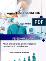 Terapi Cairan Perioperatif Pada Pediatrik