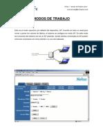 Diferencia Entre Los Modos de Operacion Del Router