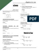 Teoría de Ecuaciones