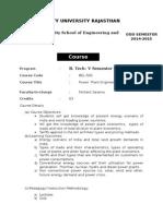 Course Handout PPE