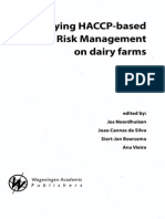 HACCP Based Quality Risk Management on Dairy Farms