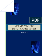 Net Neutrality Committee Report