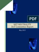 Net Neutrality Committee Report