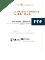 FP Compliance Certificate KP Tiwari
