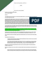 Principles & Defenses involving Torts_Cases Full Text.docx