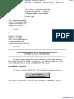 WW Investment Group LLC, Trustee of Old Oak Holding Trust et al v. Starer et al - Document No. 8