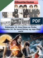 El Filibusterismo Kabanata 12 Placido Kabanata 13 Klase sa Pisika Kabanata 14 Bahay ng Isang Mag-aaral