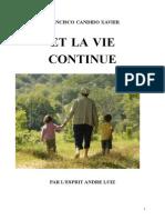 Francisco Candido Xavier Fr Série André Luiz 13 Et La Vie Continue Yjsp