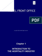 Introduction Front Office Operations
