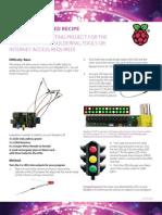 Traffic Lights project on Raspberry Pie