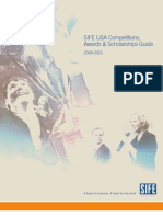 SIFE USA Competitions, Awards & Scholarships Guide