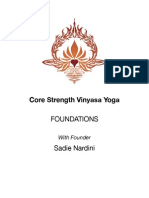 Yoga Core Strength Foundations