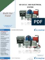 Geomative GD-10 Geophysical Resistivity/IP Equipment Quick Start