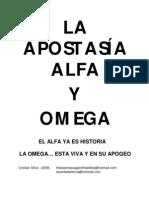 La Apostasia Alfa y Omega