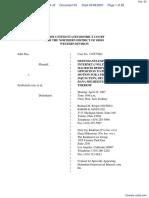 Doe v. SexSearch.com et al - Document No. 93