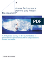 Pwc Global Project Management Survey First Survey 2004 26 Feb '15