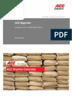 ACC Bagcrete - Brochure