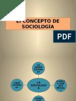 Concepto de Sociología Informacion Para Semestral