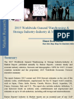 2015 Worldwide General Warehousing & Storage Industry-Industry & Market Report