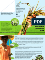 Agricultural Investment Fund