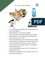 Healthy Lifestyle/Vida de estilo saludable