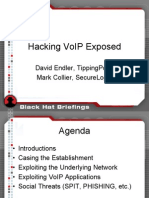 Hacking VoIP Exposed