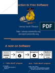 Introduction to Free Software