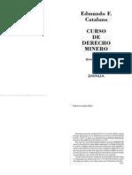 Edmundo Catalano - Curso de Derecho Minero