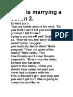 Bella is Marrying a Cullen 2