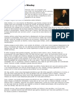 O Exemplo de John Wesley