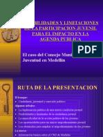 POSIBILIDADES Y LIMITACIONES DE LA PARTICIPACION JUVENIL PARA EL IMPACTO EN LA AGENDA PUBLICA