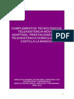 Prestaciones de Teleasistencia Abril 2014