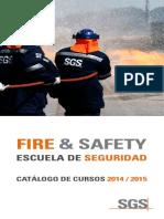 Catalogo Fire Safety 2014 2015 SGS