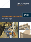 Automated production line for small-logs