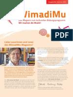 WimadiMu - Das Magazin Sommer 2015
