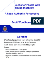 Housing Needs for People With a Learning Disability - Workshop July 15