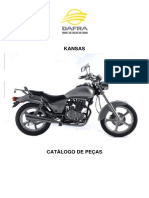 Manual Dafra Kansas 150