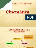 Cinemática en dos dimensiones