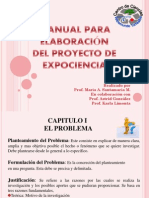 Manual Para Elaboracion Del Proyecto de Expociencia-final