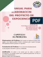 Manual Para Elaboracion Del Proyecto de Expociencia-final