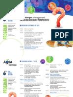 Preliminary Prog AQIA2015-Food Allergen Conference